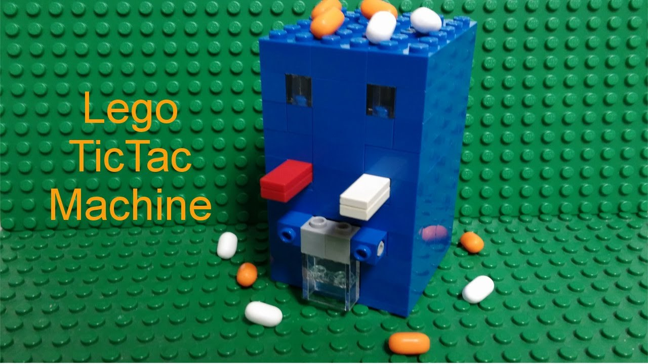 lego machine a bonbon instruction