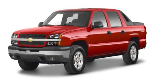2002 chevy avalanche parts manual
