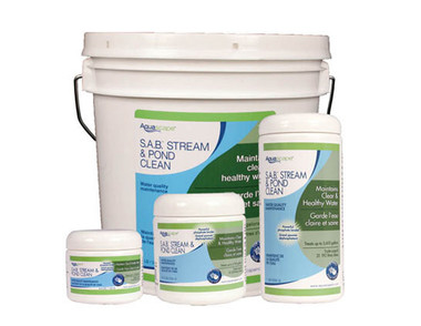 Large pond mold how to clean