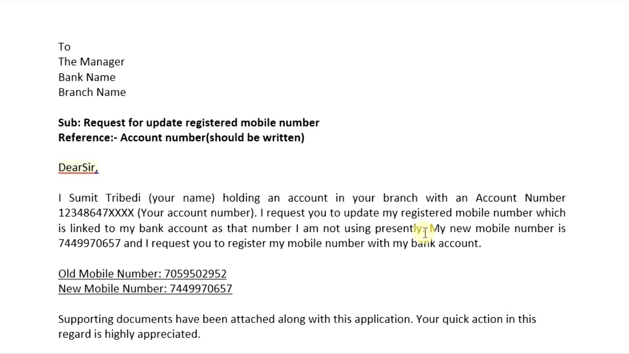 Application for new provider number