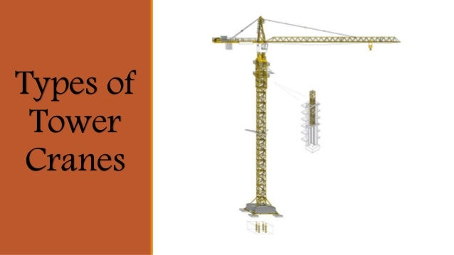 Types of tower cranes pdf