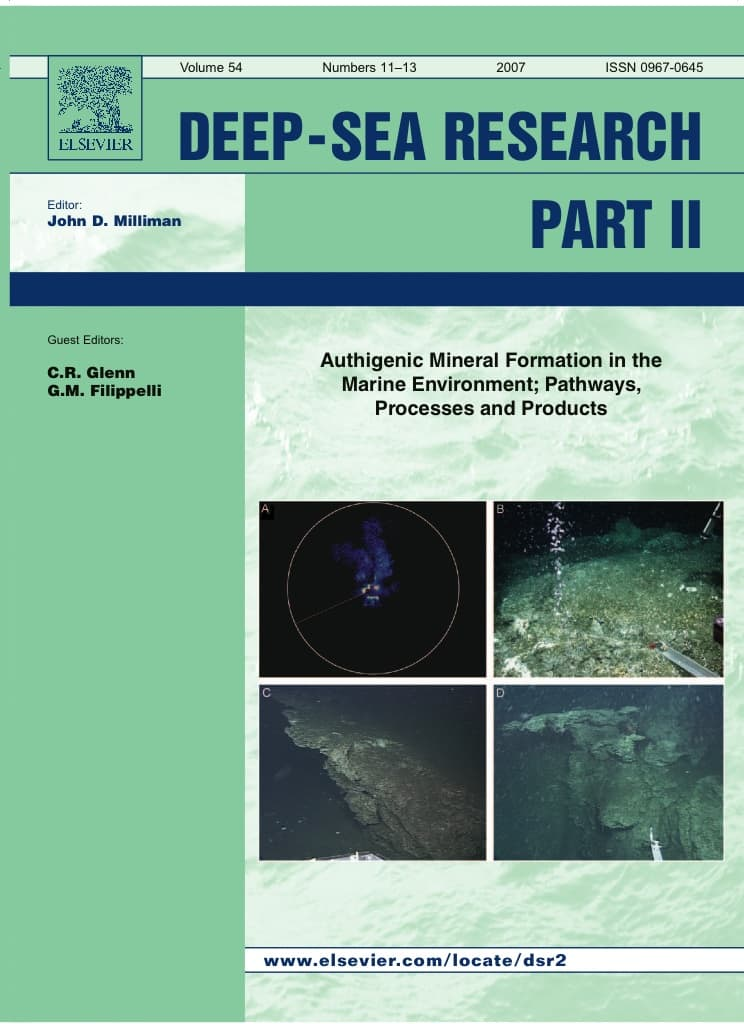 Deep sea research author guidelines