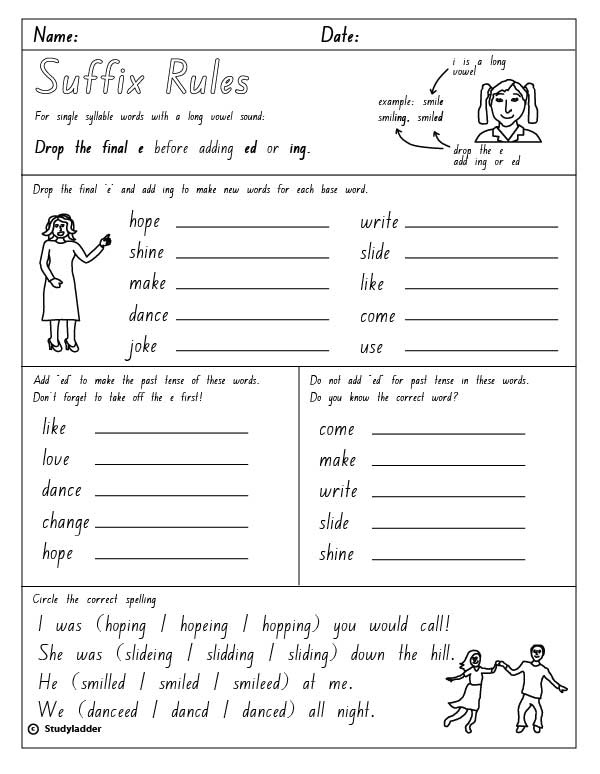 Adding ing to verbs worksheet pdf