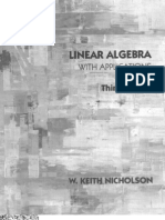 Introduction to abstract algebra by w keith nicholson pdf