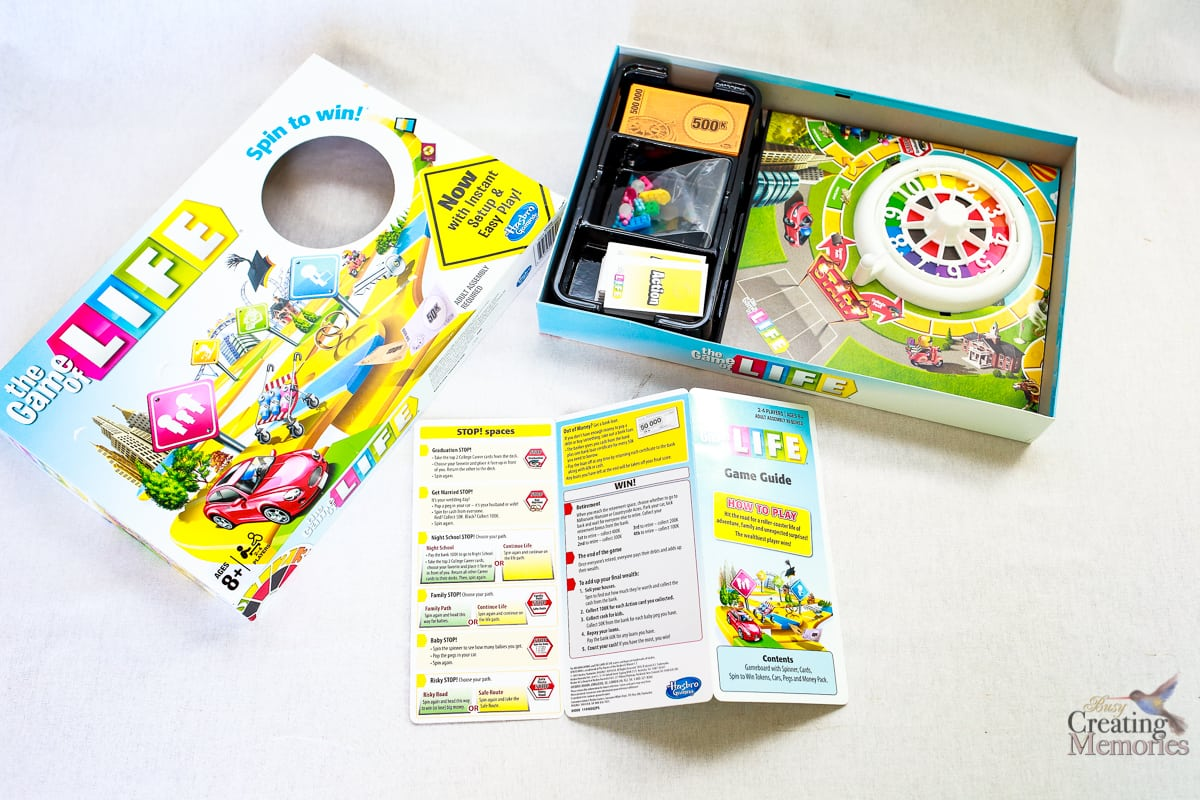 Hasbro game of life empire instructions