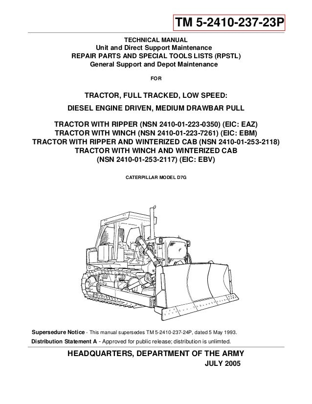 Power gear parts and service manual