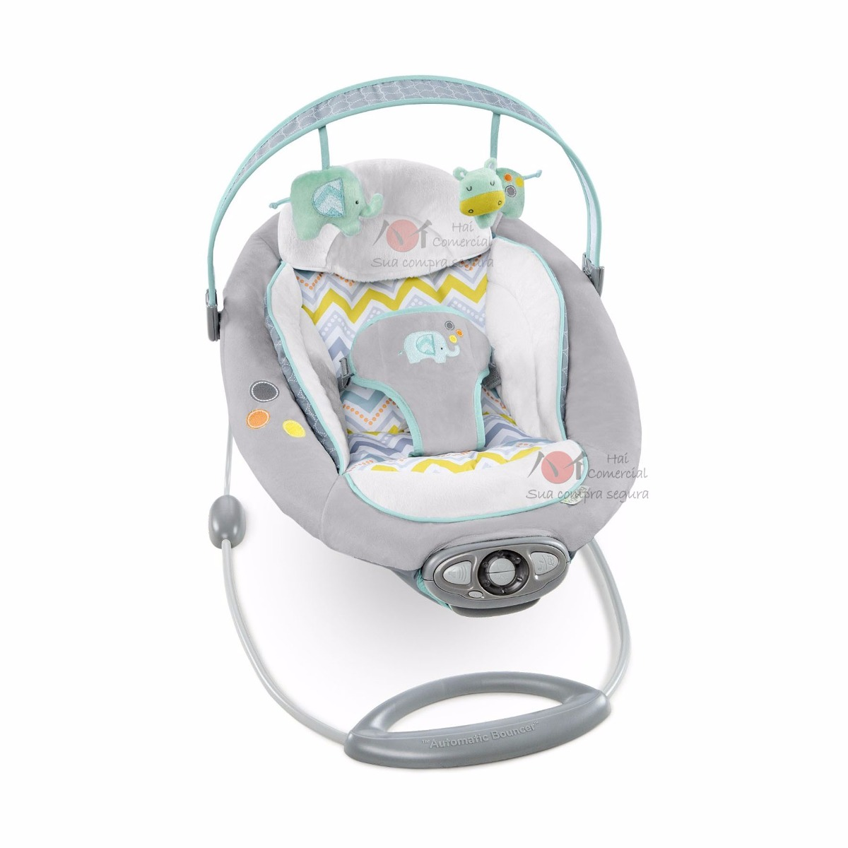bright starts automatic bouncer instruction manual