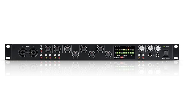 Focusrite scarlett 18i20 2nd gen manual