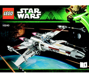 x-wing starfighter instructions