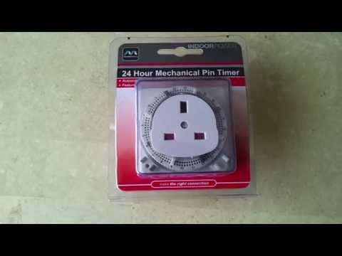 Ge 24 hour mechanical timer instructions 15152