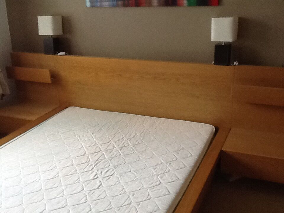 ikea malm bed with side tables instructions