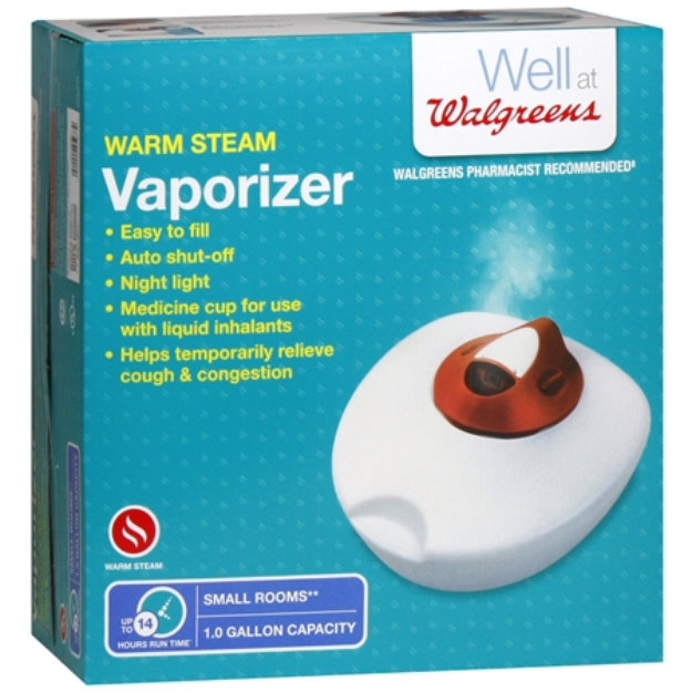 walgreens warm steam vaporizer cleaning instructions
